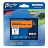 Brother TZeB51 Label Tape, Black/Orange, 26-1/5 ft. L