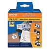 Brother DK1221 Label, Black/White, Paper, 7/8 In. W
