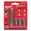 Milwaukee 48-22-2110 Bit Set, 11-In-1, For 6CMY3, 4 Pc
