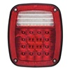 Optronics STL60RBPG Stop/Tail/Turn Lamp, 15 Diode, LED, Red
