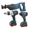Bosch CLPK411-181 Cordless Combination Kit, 18.0V, Li-Ion
