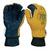 Shelby 5225J Firefighters Gloves, 2XL, Pigskin Lthr, PR