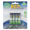 Eco Alkalines ECOAAA4 Battery, Alkaline, AAA, PK 4