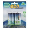 Eco Alkalines ECOC2 Battery, Alkaline, PK 2