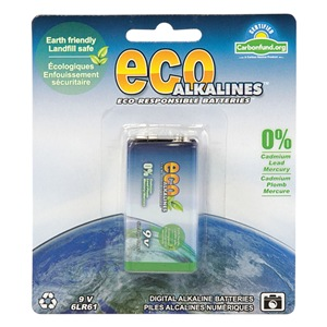 Eco Alkalines ECO9V1
