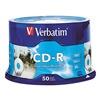 Verbatim VER94892 CD-R Disc, 700 MB, 80 min, 52x, PK 50