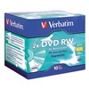 Verbatim VER94918 DVD-RW Disc, 4.70 GB, 120 min, 2x, PK 10
