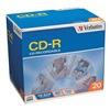 Verbatim VER94936 CD-R Disc, 700 MB, 80 min, 52x, PK 20
