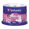 Verbatim VER95037 DVD+R Disc, 4.70 GB, 120 min, 16x, PK 50