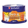 Verbatim VER95079 DVD-R Disc, 4.70 GB, 120 min, 16x, PK 50