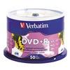 Verbatim VER95136 DVD+R Disc, 4.70 GB, 120 min, 16x, PK 50