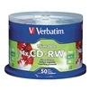 Verbatim VER95159 CD-RW Disc, 700 MB, 80 min, 4x, PK 50