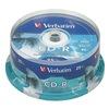 Verbatim VER95252 CD-R Disc, 700 MB, 80 min, 52x, PK 100