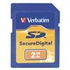 Verbatim VER95407 Premium SDHC Memory Card, 2 GB,