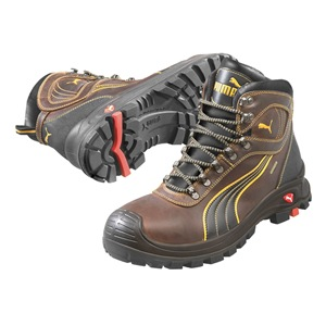 PUMA SAFETY SHOES Boots, Composite Toe, 6In, Brown, 10, PR at Sears.com