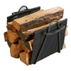 Panacea Products Corp 15216 Fireplace BLK Log Tote