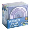 Verbatim VER94335 CD-R Disc, 185 MB, 21 min, 32x, PK 10