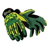HexArmor 4020X 10/XL Cut Resistant Gloves, Yellow/Green, XL, PR
