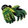 HexArmor 4020X 9/L Cut Resistant Gloves, Yellow/Green, L, PR