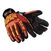 HexArmor 4021X 9/L Cut Resistant Gloves, Yellow/Orange, L, PR