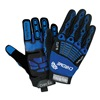 HexArmor 4024-9 Cut Resistant Gloves, Blue/Black, L, PR