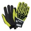 HexArmor 4026-9 Cut Resistant Gloves, Green/Black, L, PR