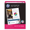 Hewlett Packard HEW112000 Multi Paper, 8-1/2 x 11 In, White, PK 500