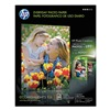 Hewlett Packard HEWQ8723AND Photo Paper, 8-1/2 x 11 In, White, PK 50