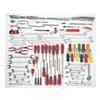 Proto J99662 Master Tool Set, Starter Maint, 148 Pc