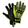 HexArmor 2021 8/M Cut Resistant Gloves, Yellow/Black, M, PR