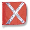 Checkers Industrial Prod Inc FS9025-16-O HD Flag, Reflexite X, 16x16 In, Orange