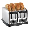 Proctor Silex 24850 Toaster, Brushed Chrome, 4 Slice