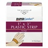 Rapid Comfort 3JNK4 Plastic Bandages, 3/4X3 IN, PK100