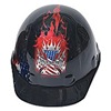 North By Honeywell E2RW00A007 Hard Hat, FrtBrim, 8Rtcht, BurningFreedom