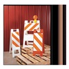 Plasticade 155-OHT12-EG Folding Barricade, Orange