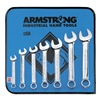 Armstrong Industrial Hand Tools 52-619 Combo Wrench Set, Full Polish, 6-19mm, 14Pc