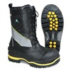 Baffin POLA-MP01-BK2-9 Winter Boots, Mens, 9, Lace, Steel, 1PR
