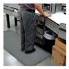 Apache Mills 39-467-0900-2X3 Mat, 2x3, Blk w/Grit Ult Diam Str, 15/16 in