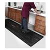 Apache Mills 39-063-0908-2x3 Mat, 2x3, Black, K-Marble Foot, 1/2