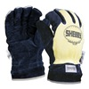 Shelby 5285L Firefighters Gloves, L, Cowhide Lthr, PR