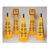 Tough Guy 6VKT1 TRFC Cone Kit, Wet Floor, Yellow