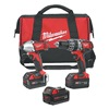 Milwaukee 7 combo 2 Cordless Combination Kit, 18.0V