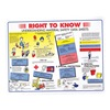 Hazard Communication BINDER VERSION MSDS Binder Chart, 8 1/2 x 11