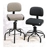 Bevco 2200/5  GRAY Pneumatic Task Chair, 300 lb., Gray