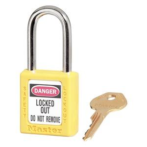 Master Lock Lockout Padlock, KA, Yellow, 1/4 In. Dia. at Sears.com