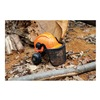 Tasco 6030 Hard Hat w/Hearing Protection, Visor, Orng