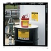 Brady 7278QLS Chemical Label, 3-1/2 In. H, 5 In. W, PK 25