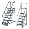 Approved Vendor F001 Rolling Ladder, Unasmbld, Platfm 12 In H