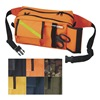 Emi 442 ORANGE Fanny Pack, Nylon, Orange, 10inx6inx5in.