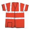 Occunomix LUX HSCOOL3 OXXL High Visibility Vest, Class 3, 2XL, Orange